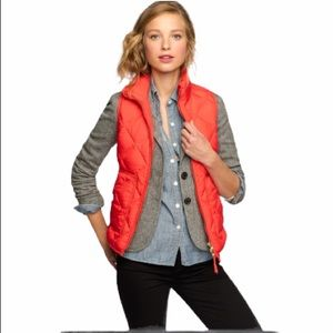 J. Crew Excursion Down Quilted Puffer Vest